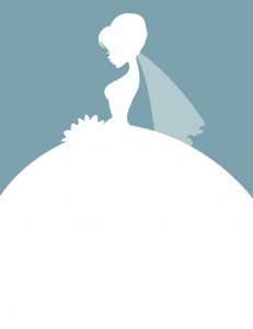 Every girl wants to be a demure bride. Right? (image: iStock)