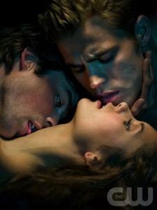 """The Vampire Diaries"" on CW"