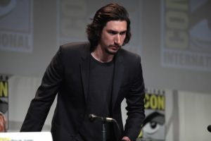 Adam Driver on a ComicCon panel.