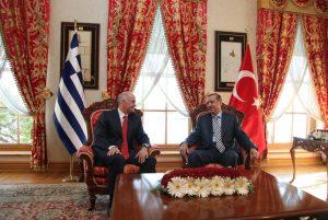 Recep Tyyip Erdogan at a meeting.