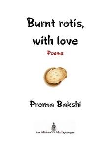 The cover of Prerna Bakshi's Burnt rotis with love