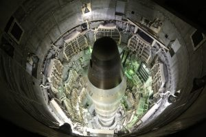 A view inside the silo of a Titan Missile.