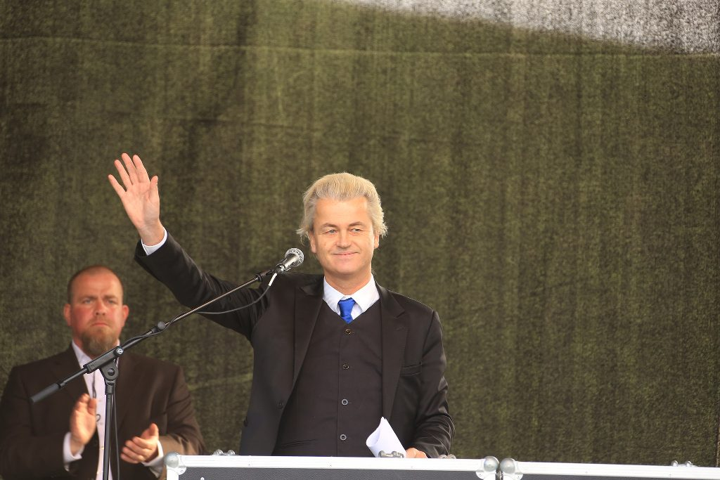 Geert Wilders at an event.