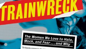 A closeup of the Trainwreck cover.