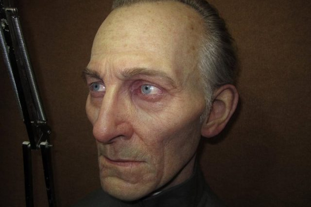 A model of Peter Cushing.