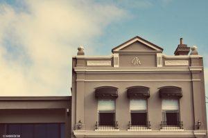 A building facade.