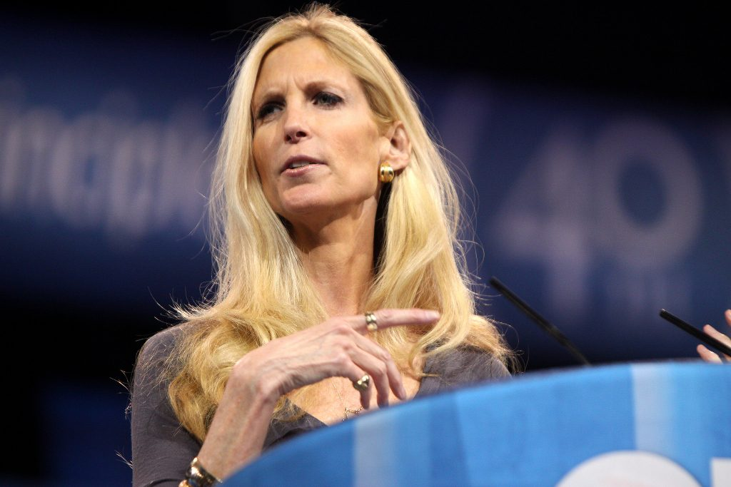 Conservative commentator Ann Coulter.