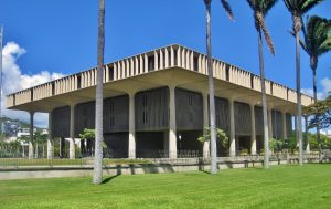 Hawaii's capitol building.
