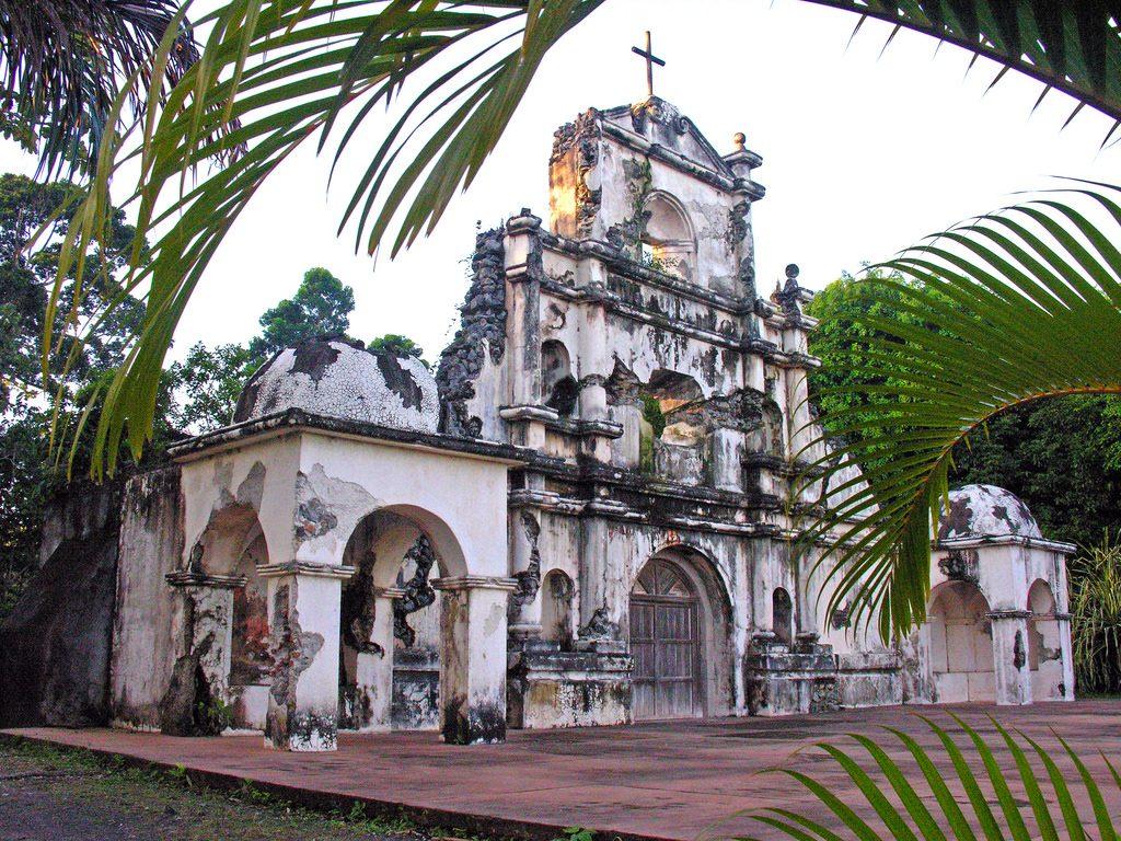 An abandoned church in Guatemala.