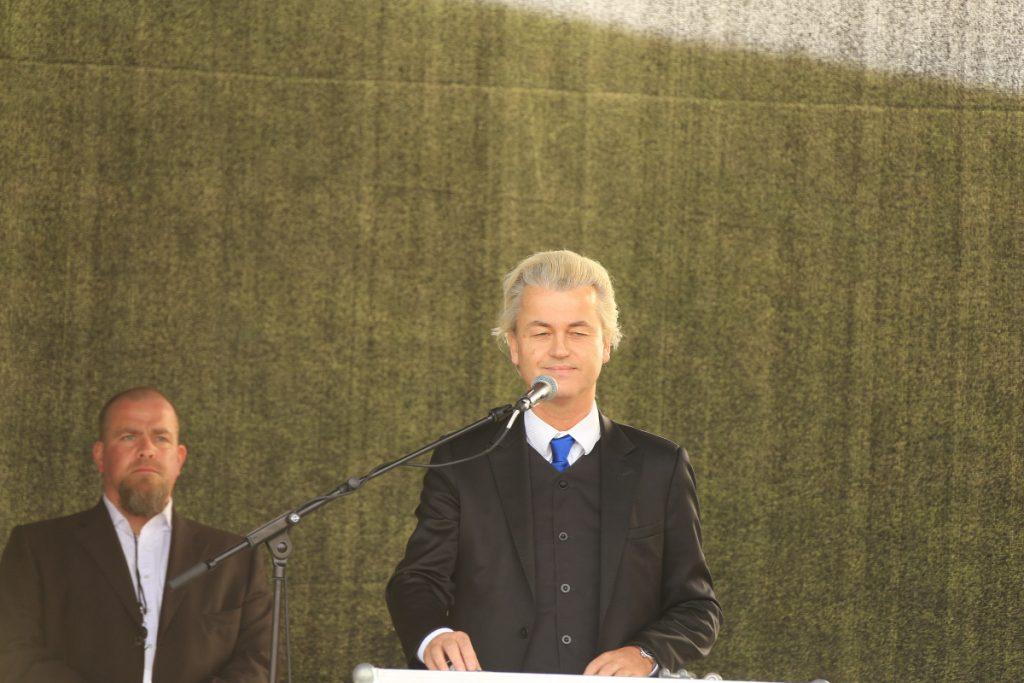 Geert Wilders at an event.