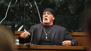 Hulk Hogan at the Gawker trial.