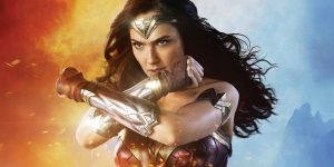 A still from the film wonder woman, featuring the titular character
