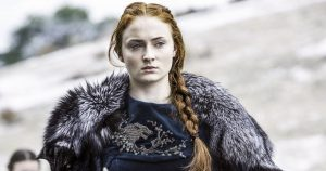 Sansa Stark on Game of Thrones.