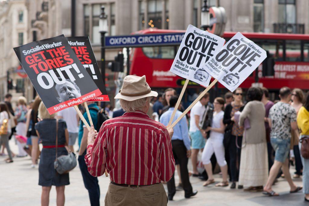 No austerity march