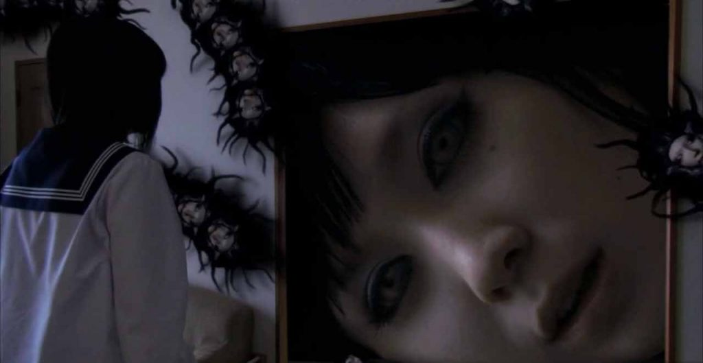 A still from a Tomie movie.