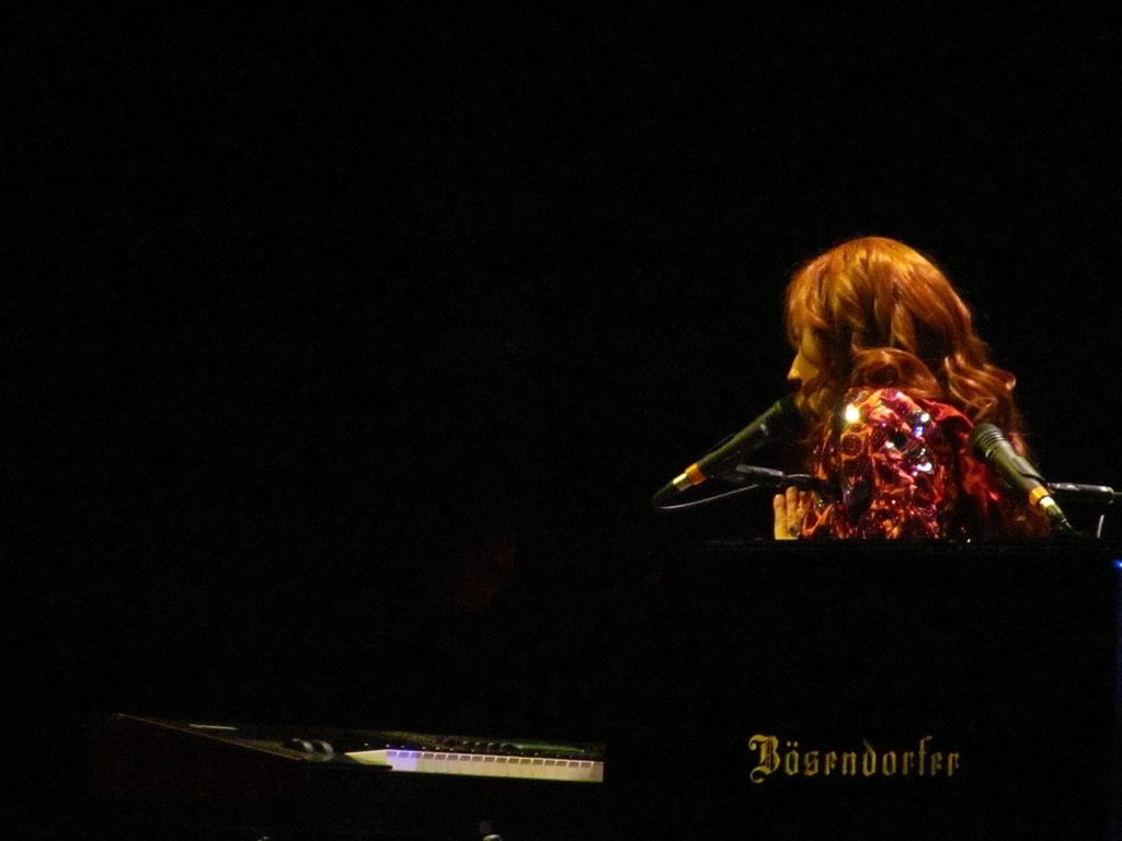 Who goes to see Tori Amos in concert ten times?