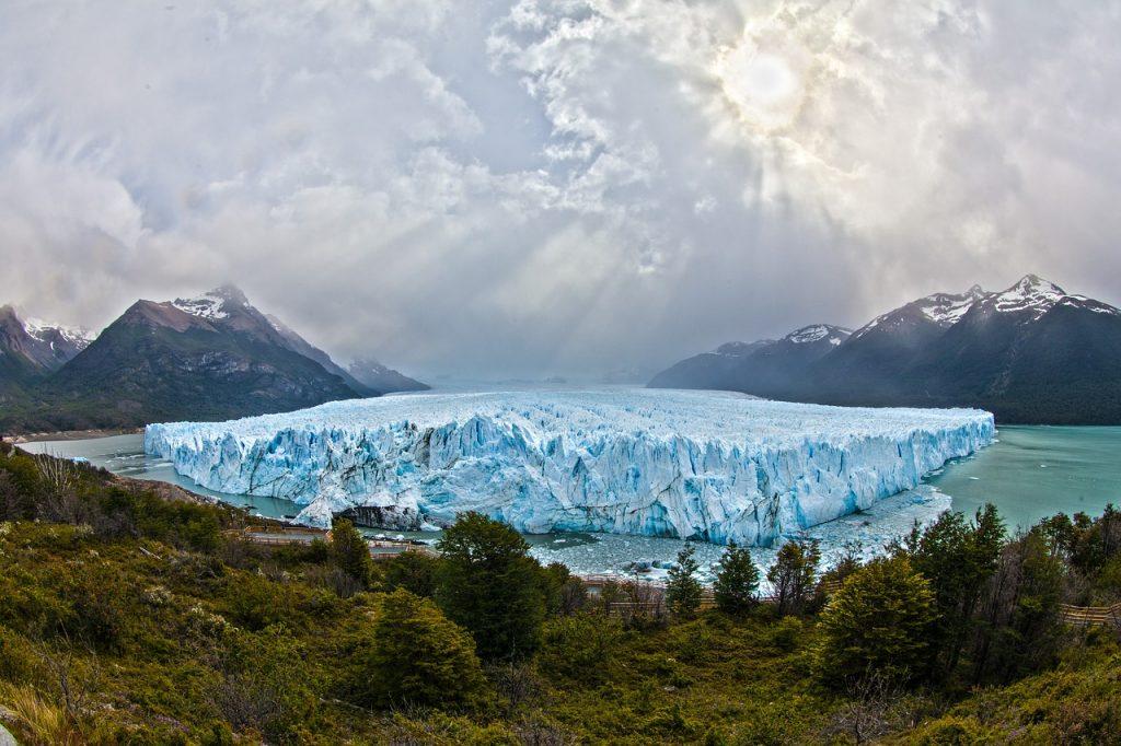 An Argentine glacier