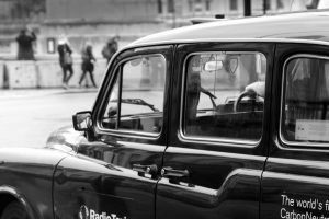 A Black Cab in London